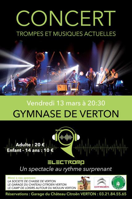 Electromp à Verton (62) le 13 mars 2020